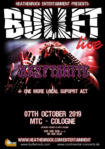 Bullet Live Poster